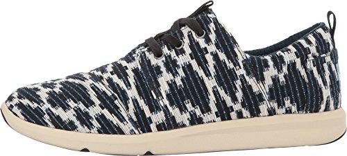 TOMS Womens Del Rey Sneaker Navy Tribal Jacquard 2HBBZ