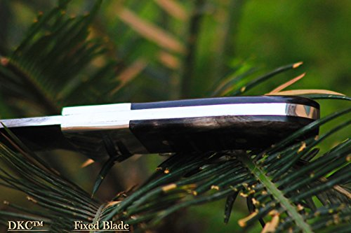 DKC-543-NIGHT-HAWK-Damascus-Tanto-Bowie-Hunting-Handmade-Knife-Fixed-Blade-82oz-oz-9-Long-5-Blade