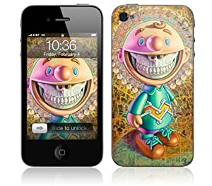 Zing Revolution MS-RONE60133 Ron English - Mandala Grin Cell Phone Cover Skin for iPhone 4/4S