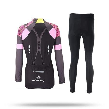 Amazon.com: Unkoo - Camiseta de ciclismo para mujer, ligera ...