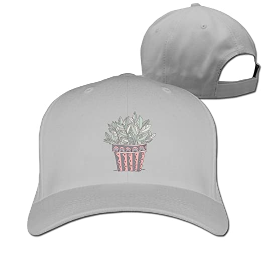 HHNYL Baseball Cap Potted Plant Dad Hat Peaked Flat Trucker For Men ... 326860428b7