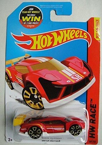 (Hot Wheels 2015 HW Race Super Blitzen 148/250, Red)