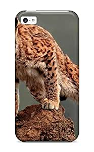 Pretty JREHqim9030ivbGd Iphone 5c Case Cover/ Lynx Pictures Series High Quality Case
