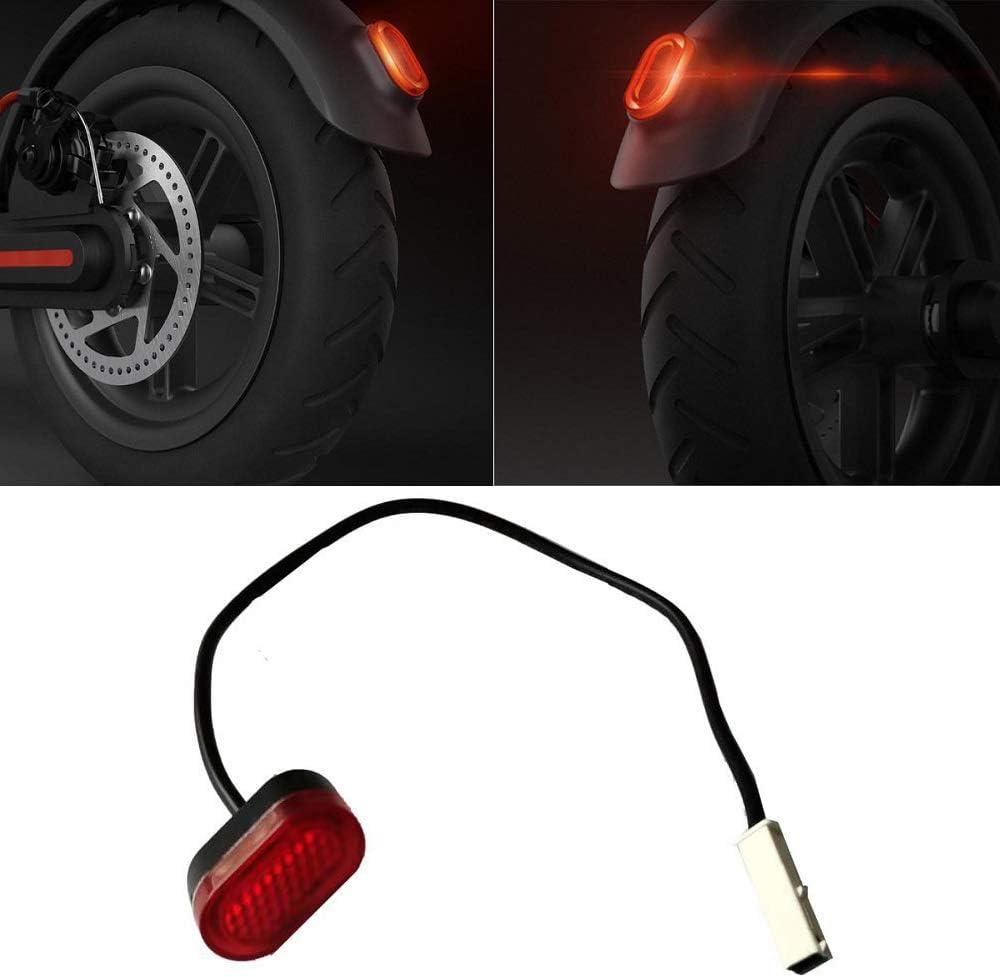 aibiku Luz Trasera para Xiaomi Mijia M365 Eléctrico Scooter
