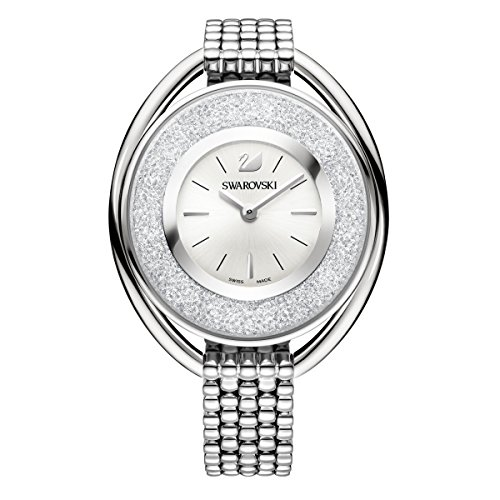 (Swarovski Crystalline Oval White Bracelet Watch 5181008)