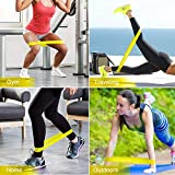 Letsfit Resistance Bands, Exercise Bands Set with