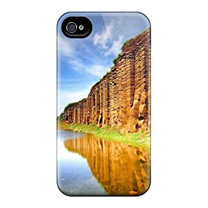 First-class Case Cover For Iphone 4/4s Dual Protection Cover Beautiful Place Ii