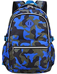 Camouflage Kids School Bags Tactical Backpack for Primary /Middle School Boys Girls,Bookbag Outdoor Daypack