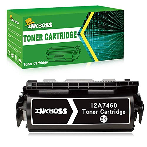 InkBoss High Yield Toner Cartridge Compatible for Lexmark Optra 12A7365 Printer Toner Cartridge, (32,000 Page-Yield, Black)