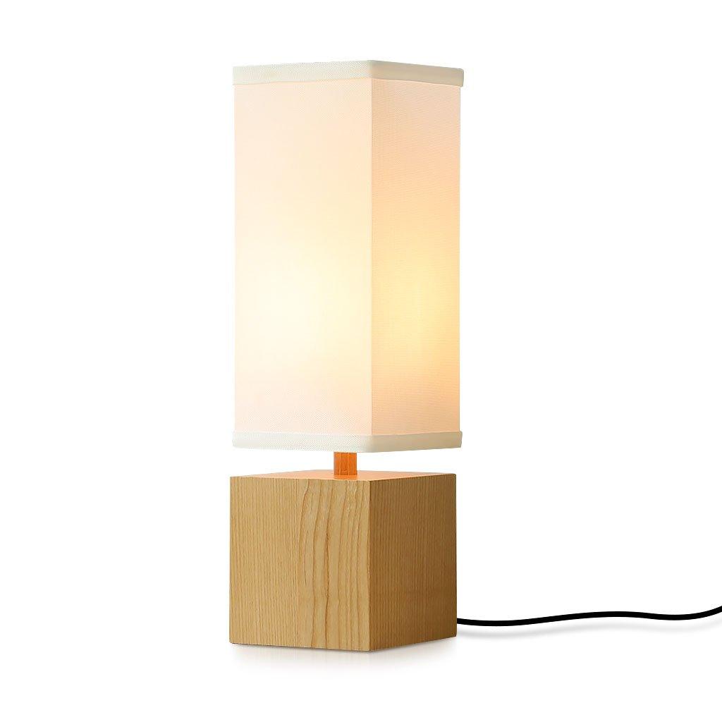 minimalist lighting. Finether Bedroom Lamp Wood Bedside Lighting Minimalist Novelty Romantic Table Lamps For Working Learning Nightstand Night C