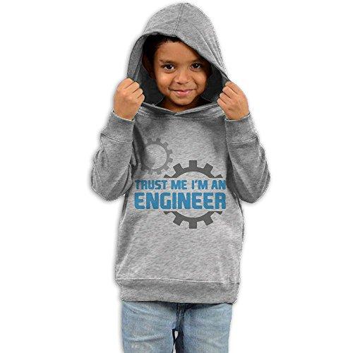 ZheuO Boys & Girls Infant Trust Me I AM AN Engineer Casual Style Hoodie Sweatshirt 4 Toddler (Burts Bees Coffee Lip)