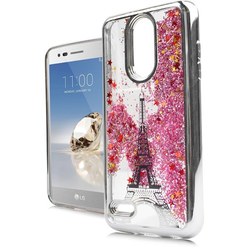 Chrome Motion Glitter Case Cover for LG Aristo