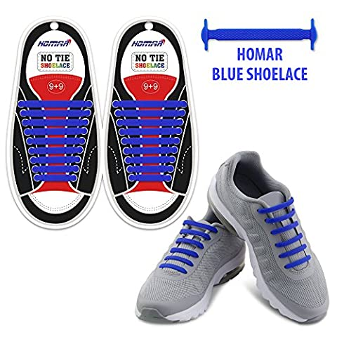 Homar Reflective No Lock No Tie Shoelaces with High Performance - Best in No Tie Shoelace Replacement Accessories - Athletic Flat Shoe Laces - - Shoes