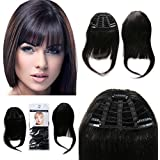Clip on Bangs Real Human Hairpieces for Beauty Girls