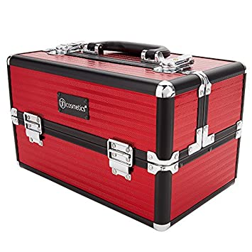Amazon.com  BH Cosmetics Makeup Train Case bb19e62ef8ce