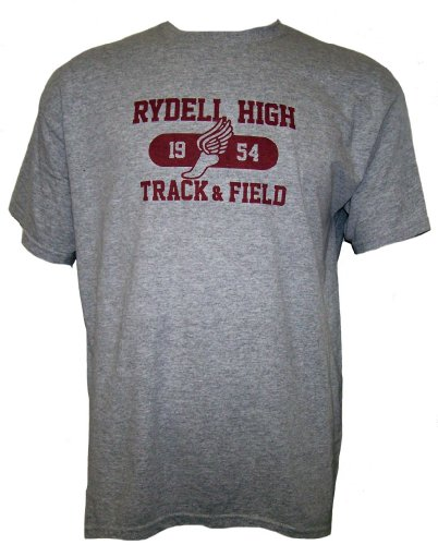 Oddi-Tees Grease The Movie Rydell HIGH 1954 Track & Field Mens Short Sleeve T -