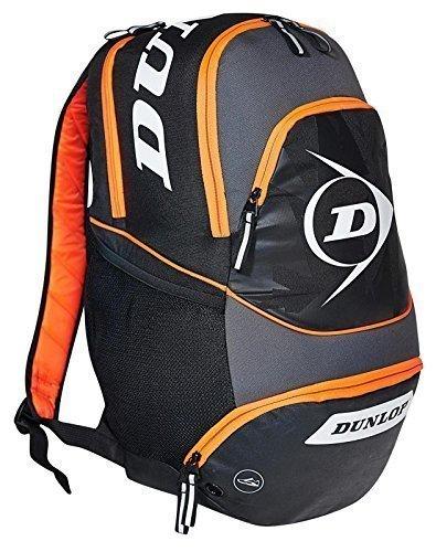 Performance per Squash Dunlop Borsa trolley per zaino, colore: nero/grigio/arancione