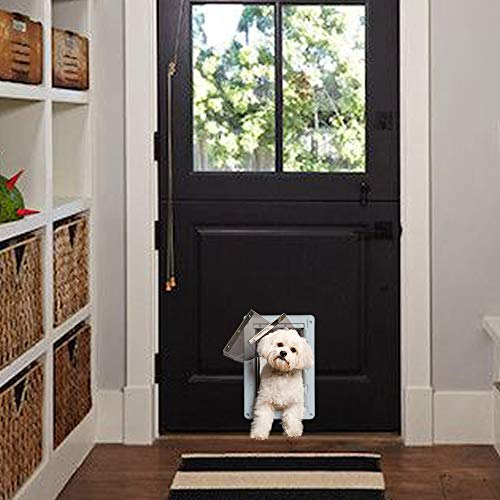 Ideal Pet Products Designer Series Ruff-Weather Pet Door with Telescoping Frame, Small, 5' x 9.25' Flap Size