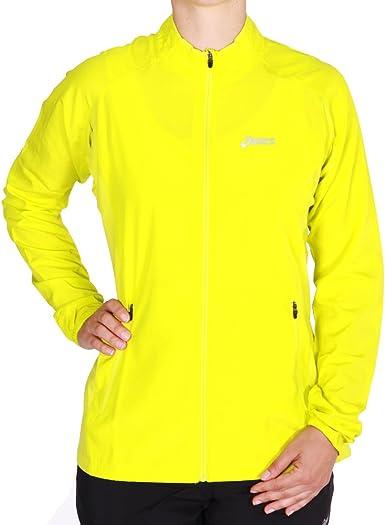 Shuraba Supresión recibo  ASICS Woven Running Jacket Women: Amazon.co.uk: Sports & Outdoors