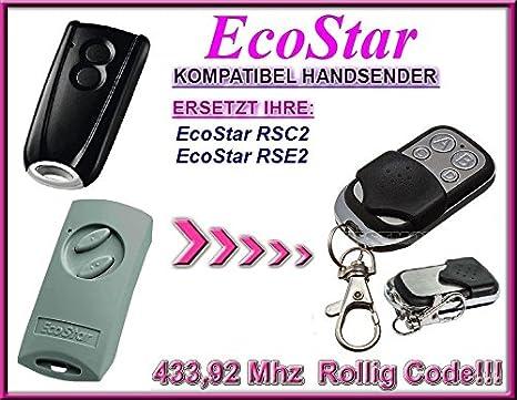 Hörmann ECOSTAR RSE2 Compatible Remote control with Hörmann ECOSTAR RSC2