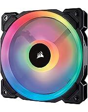 Corsair LL120 RGB, 120mm Dual Light Loop, RGB LED PWM Fan, Single Pack - Black