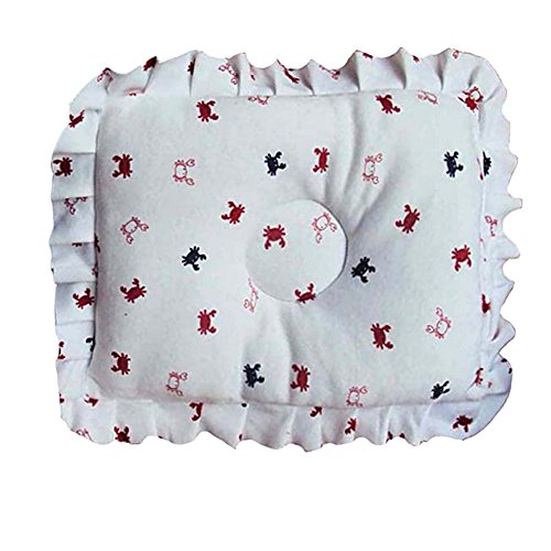 Cotton Baby Newborn Infant Toddler Soft Sleeping Support Pillow Prevent Flat Head (Infant Newborn Activity Book)