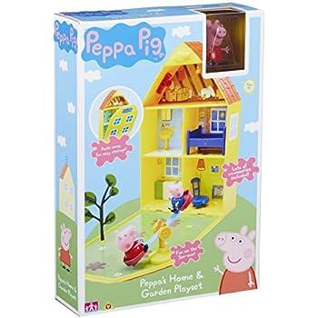 "Peppa Pig 06156 ""Peppa's Home & Garden"" Playset"