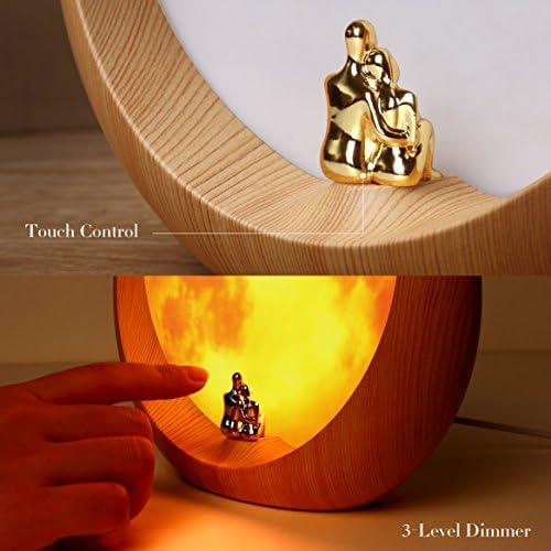 mamre Moon Ambient Light DIY Anniversary Wedding Valentines Day Gift Ideas Art Décor, Love Beneath The Red Moon 51DLlhpBzdL