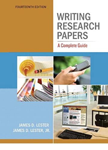 amazon com writing research papers a complete guide spiral with rh amazon com writing research papers a complete guide james d lester pdf writing research papers a complete guide 15th edition pdf free