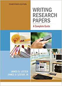 Writing research papers james d lester pdf whats mla format