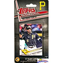 Pittsburgh Pirates 2017 Topps Baseball EXCLUSIVE Special Limited Edition 17 Card Complete Team Set with Starling Marte, Andrew McCutchen & Many More Stars & Rookies! Shipped in Bubble Mailer! WOWZZER!