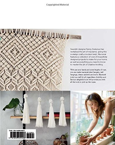 Macrame The Craft Of Creative Knotting For Your Home Fanny