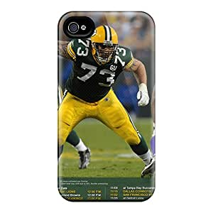 Anti-Scratch Cell-phone Hard Cover For Iphone 6plus (ALp8843mKtO) Unique Design Vivid Green Bay Packers Skin