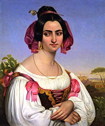 (Johann Heinrich Richter Fortunata Segatori 1834 Private Collection 30