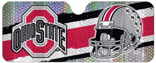 NCAA Ohio State Buckeyes Sun Shade (Car Sunshade Team)