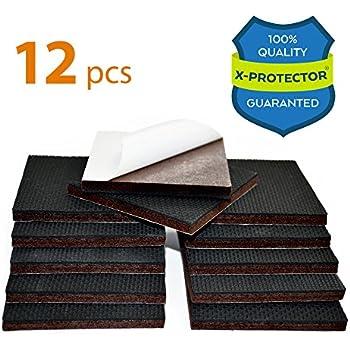 NON SLIP FURNITURE PADS X PROTECTOR U2013 PREMIUM 12 Pcs 3u201d Furniture Pad!