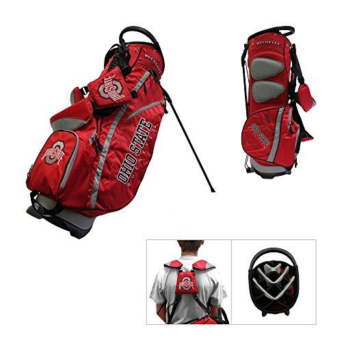 State Fairway Stand Bag - Team Golf Ohio State Buckeyes Fairway Lightweight 14-Way Top Golf Club Stand Bag