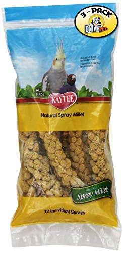 51DLnWcXMaL - Kaytee Spray Millet for Birds (Pack of 3)