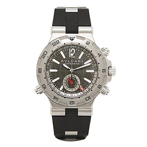 0ae56b23c0fc Amazon | (ブルガリ) BVLGARI ブルガリ 時計 メンズ BVLGARI DP42C14SVDGMT ディアゴノプロフェッショナル  スクーバ 自動巻き 腕時計 ウォッチ ブラック/シルバー[並行 ...