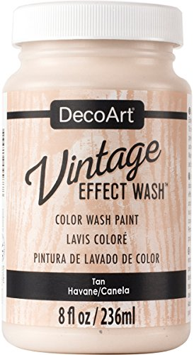 DecoArt Vintage Effect Wash 8oz, Tan
