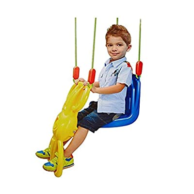 COLOR TREE Heavy Duty Glider Swing for Kids Fun Swing Seat: Toys & Games