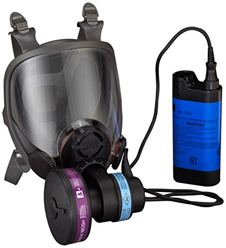 3M Powerflow Face-Mounted Powered Air Purifying Respirator (PAPR