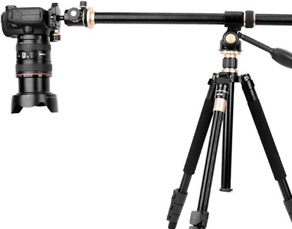 61Cm Long Load Weight is 5Kg HUOFEIKE Tripod Boom Bracket Suitable for Outdoor Studio Macro Head Shot Multi-Angle Extension Arm Can Be Fixed to The Outside