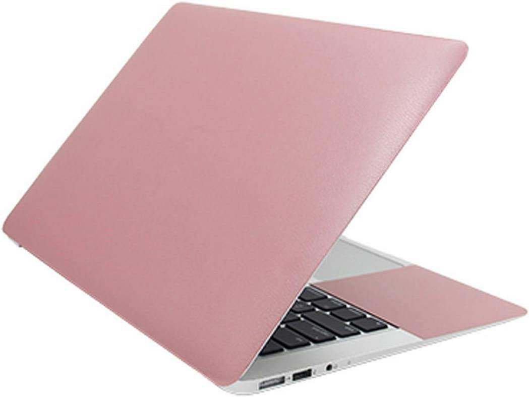 Universal Laptop Skin 13.3 15.6 17.3 11.6 Solid Color Notebook Stickers for MacBook/Lenovo/acer/xiaomi air/hp Computer Sticker-Pink-Custom Size