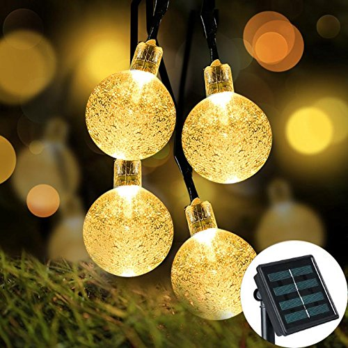 Solar Powered Led Holiday String Lights - 4