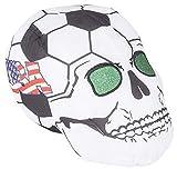 RIN001 12PC, 11'' USA SOCCER BALL SKULL HEADS