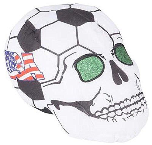 RIN001 12PC, 11'' USA SOCCER BALL SKULL HEADS by RIN001