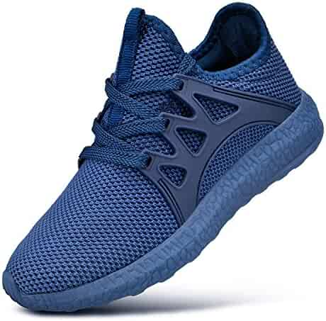 Feetmat Kids Sneakers Lightweight Breathable Boys Tennis Shoes