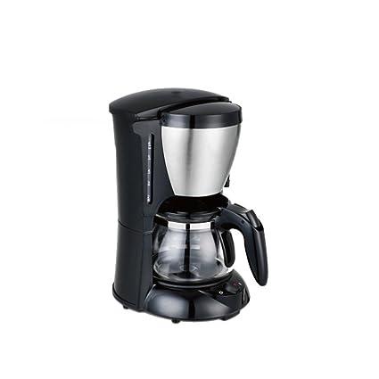 Tipo automático del Goteo Café del hogar Máquina Caliente electromecánica del té Acero Inoxidable Negro 0.65
