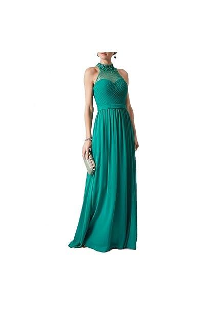 Mascara Sueño Verde Mc181254bm Plisado Blusa Perla 44